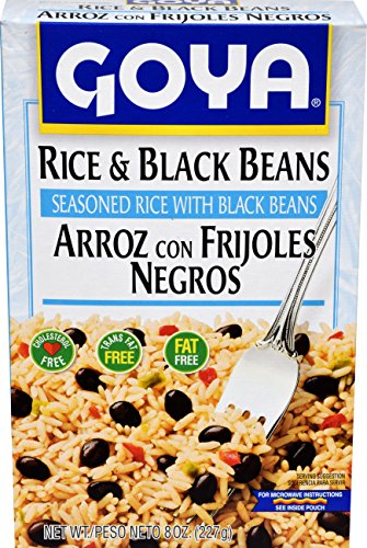 (Goya Foods Rice and Black Beans, 8-Ounce (Pack of)