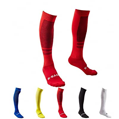 2018 World Cup Soccer Socks, Midfielder Soccer Over the Calf Team Athletic Performance Socks for Men and Youth, 1-5 Pack