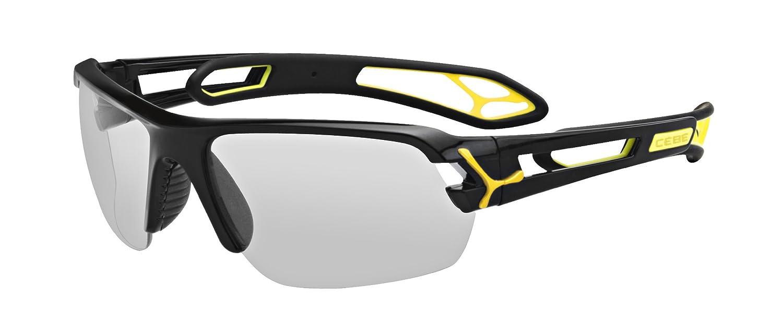 Amazon.com: Cebe S track Medium Marco Negro anteojos de sol ...