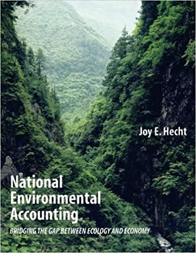 National Environmental Accounting: Bridging the Gap between Ecology and Economy