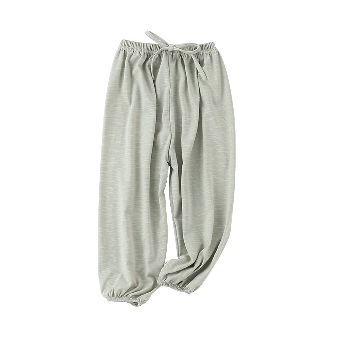 PAUBOLI Baby Long Bloomers Soft Slub Cotton Harem Pants Boys Girls 12M-7T