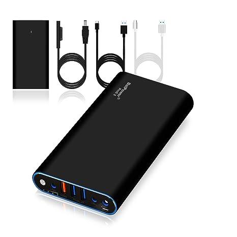 BatPower ProE 2 ES7B Cargador portátil Batería Externa Power Bank para Surface Book 2 Book Laptop ...