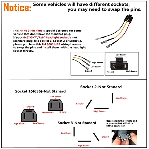 Headlight Socket Wiring Diagram from images-na.ssl-images-amazon.com
