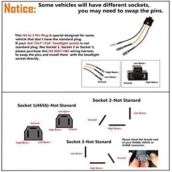 H4 Headlight Socket Wiring Diagram - Wiring Diagram K8 on