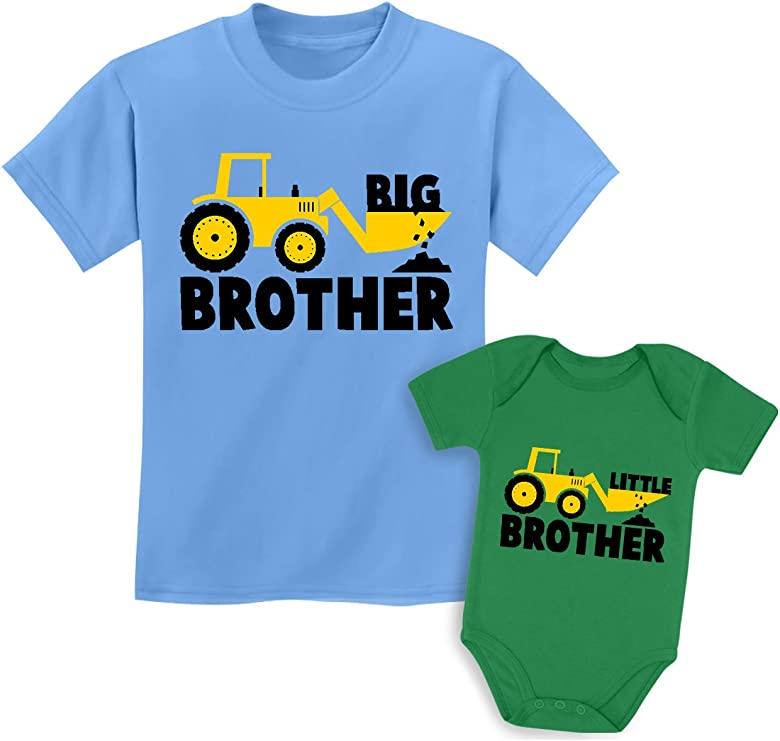 6mo Thru 7t My Big Brother Is Boxer Baby Toddler Kid T-shirt Tee