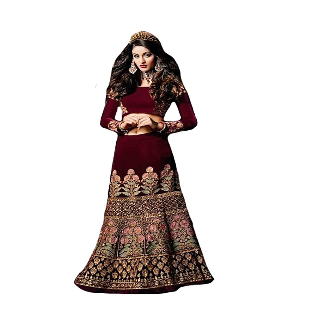 628d50010f Amazon.com: Designer New Launch Fashion Heavy Bridal Wedding party Wear  Lehenga Choli Dupatta womens Muslim By Ethnic Emporium 8719 ds: Clothing
