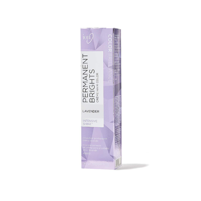 Ion Permanent Brights Creme Hair Color Lavender Lavender