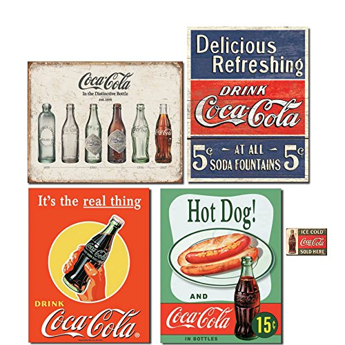 Cold Coca Cola Tin Sign - 3