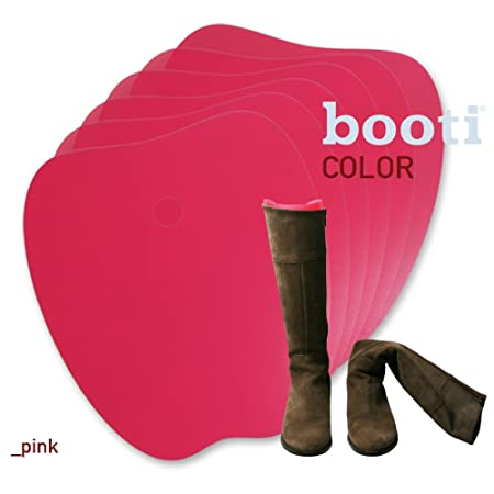 booti boot shaper COLOR - pink for 4 pairs of boots