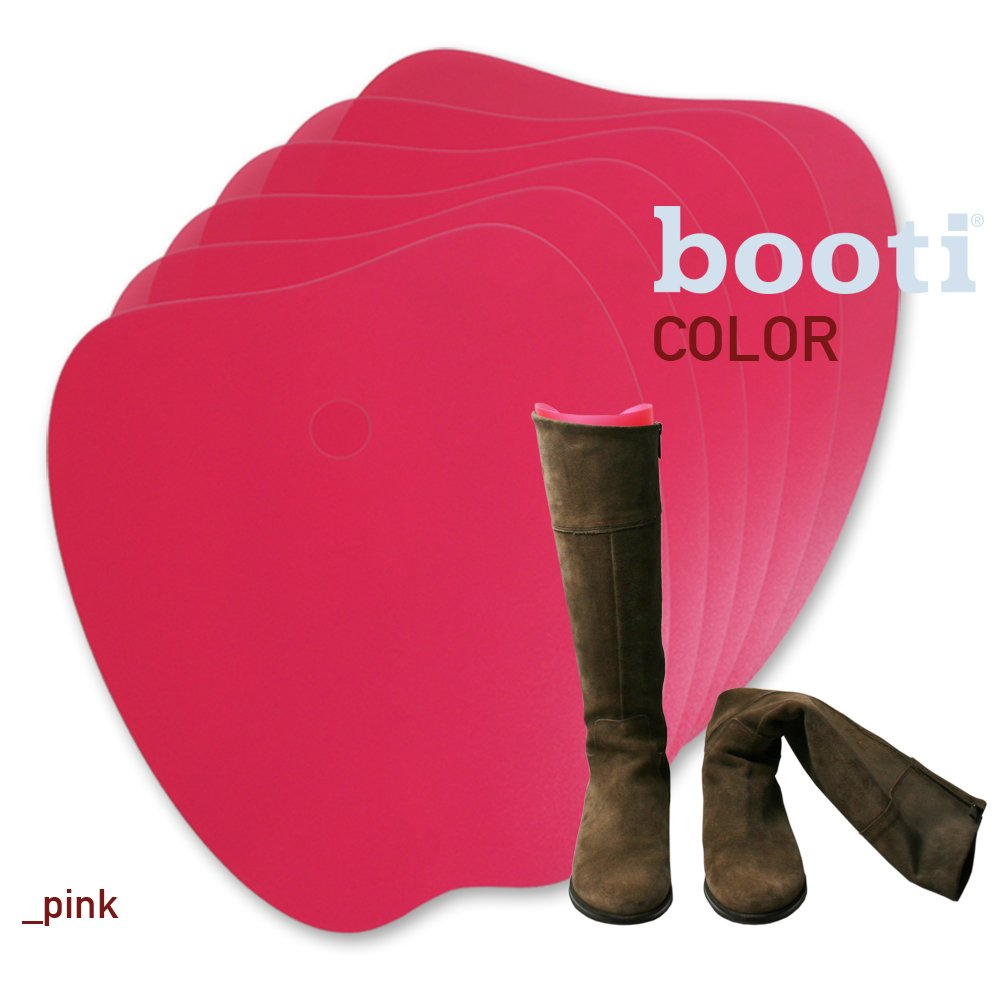 booti boot shaper COLOR - pink (pack of 8) for 4 pairs of boots
