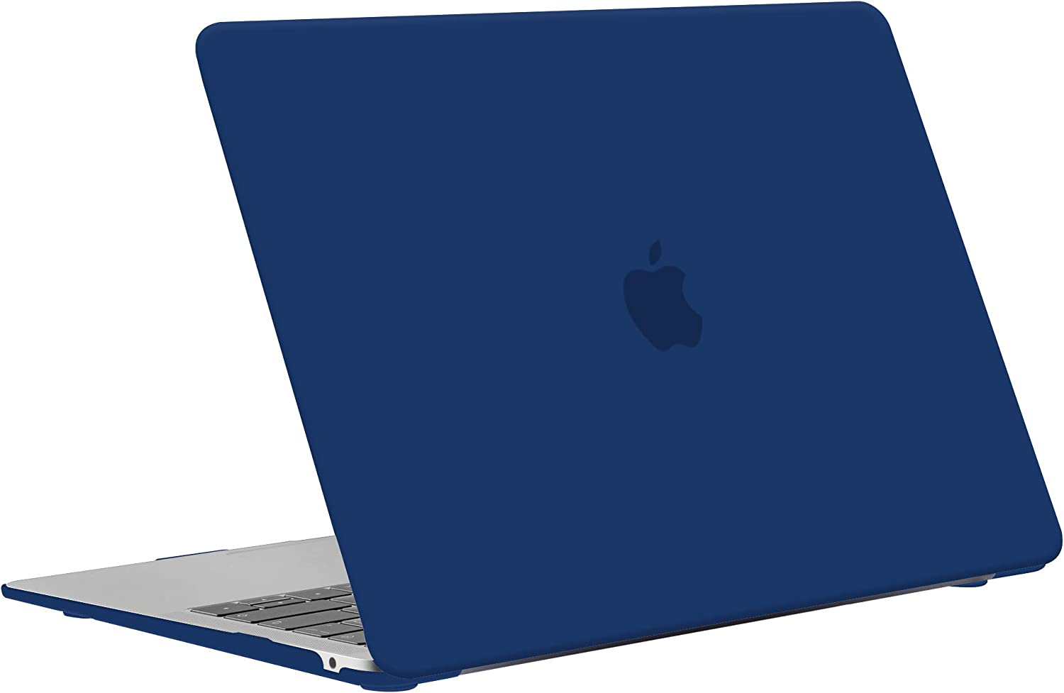 Slim Plastic Hard Shell Case Cover for New MacBook Air 13.3 Retina with Touch ID - Transparent TECOOL MacBook Air 13 inch Case 2018 2019 2020 Model: A1932 // A2179