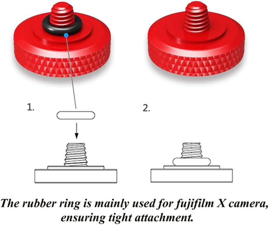 2Pack Camera Soft Release Button JJC Shutter Button for Fuji Fujifilm X-T4 X-T3 X-T2 X-T30 X-T20 X-T10 X-PRO3 X-PRO2 X100V X100S X100T X100F X30 X20 X-E3 X-E2S RX10 II III IV Leica M10 M-E M-P