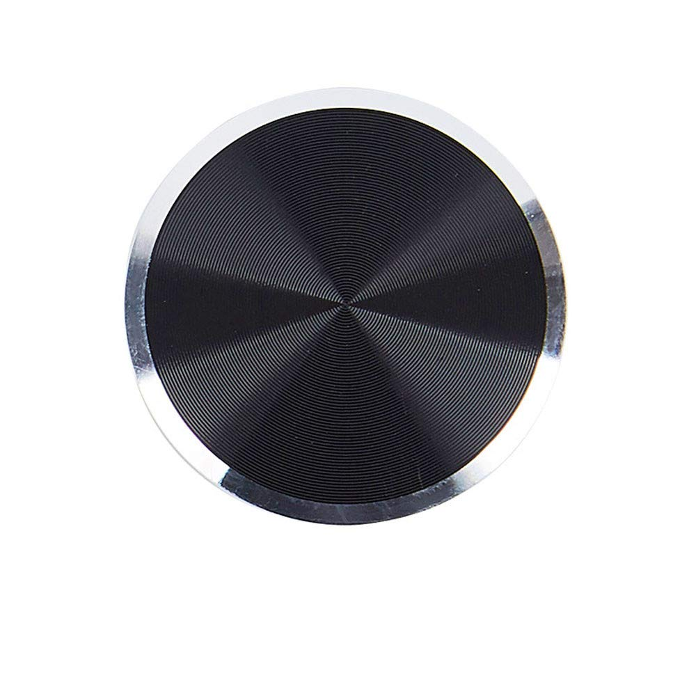 Car Mount Metal Plate Adhesive Sticker Replace for Magnetic Car Mount Phone Holder for Smartphone (Black)