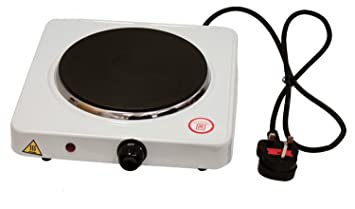 Portable Single Electric Hot Plate Hob Kitchen Cooker Table Top Mobile Cook  Plate 1000W