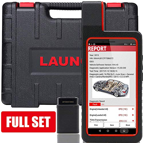 (LAUNCH X431 DIAGUN IV Bidirectional Scan Tool Auto Full System Diagnostic Tool Support ECU Coding,Actuation Test,Self-Adaption,Remote Diagnostic,Reset Functions Free Online Update - 5 Years Warranty)