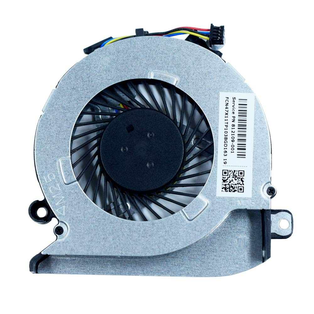DREZUR CPU Cooling Fan Compatible for H 15-AB 15-AB000 15-AB100 15T-AB200 15-AB121DX 15-AB093TX 17-G 17-G100 17-G179NB Series Laptop 812109-001 812111-001 816119-001