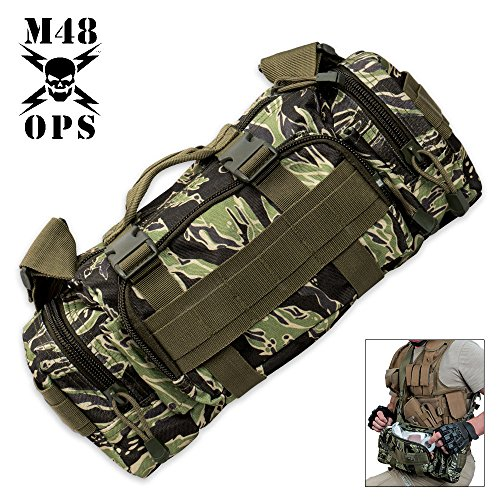 (M48 OPS Tiger Stripe Camo Response Pack)
