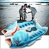 Children's Unisex Fish Slippers, bass