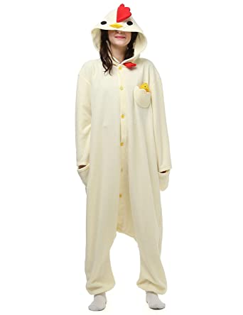 eb980d72b71e Amazon.com  anmor Adults Onesies Animal Women Mens Onesie Costumes Cosplay  Outfit Pajamas ARAC003  Clothing