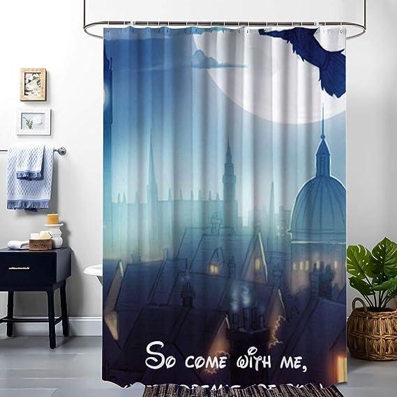 Peter Pan Bathroom Waterproof Shower Curtain Decor 60x72 inch