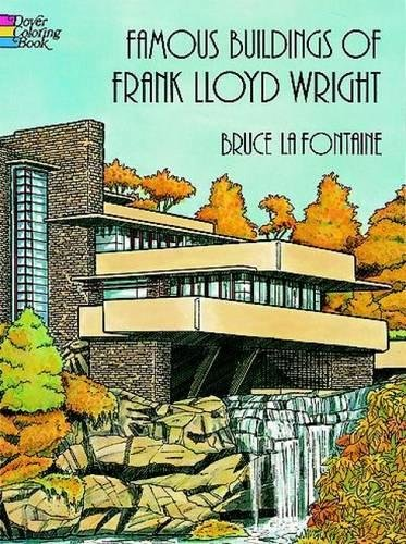 Frank Lloyd Wright (Dover History Coloring Book) (Famous Buildings)