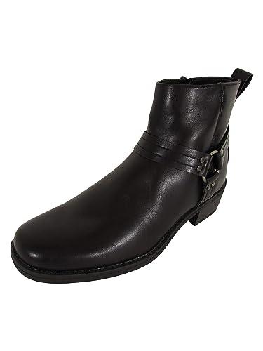 Memphis One Herren Motorradstiefeletten: : Schuhe