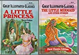 Great Illustrated Classics - Set Of 5 Books - The Man In The Iron Mask - The Mutiny On Board HMS Bounty - A Tale Of Two Cities - Treasure Island - King Solomon's Mines