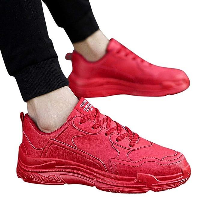 scarpe classiche orologio vendite all'ingrosso Scarpe Sportive Da Uomo in Pelle Moda Vintage Scarpe Da Corsa ...
