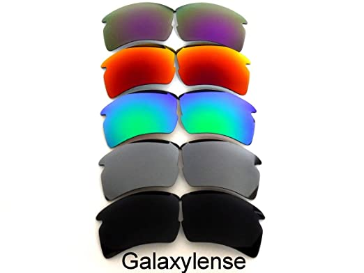 702042cb4a Replacement Lenses For Oakley Flak 2.0 XL Polarized Black Silver Green Red