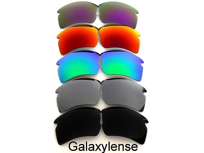 Lentes De Repuesto Para Oakley Flak 2.0 XL Polarizados negro y plata y verde  y rojo y púrpura - Transparente, regular  Amazon.es  Ropa y accesorios 10556761fe
