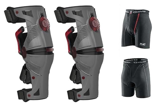 Mx Knee Braces >> Amazon Com Mobius X8 Knee Braces Small Grey Crimson Pair Dirt