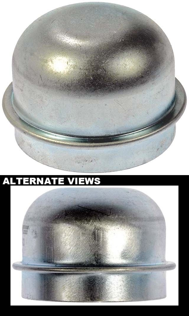 See Compatbility Chart For Fitment; Replaces 3580894 APDTY 24007 Front Wheel Bearing Dust Cap 1-13//16 Dia.