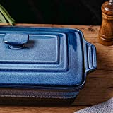 KOOV Ceramic Casserole Dish with Lid, Covered