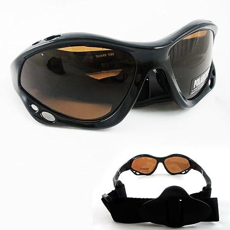 64d65b44807 Amazon.com  Polarized Sunglasses Goggles Fishing Boating Water Sport  Kitesurfing Headband  Sports   Outdoors