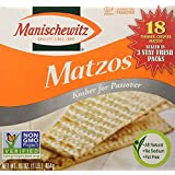 Communion-Matzo Unsalted Bread-Square (Pack of 10)