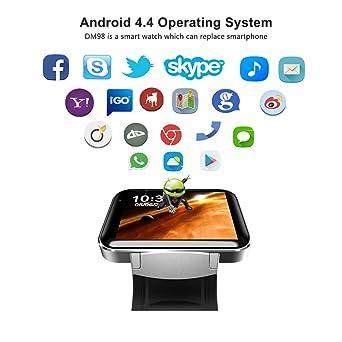 Smartwatch Demiawaking reloj Inteligente DM98 reloj inteligente ...