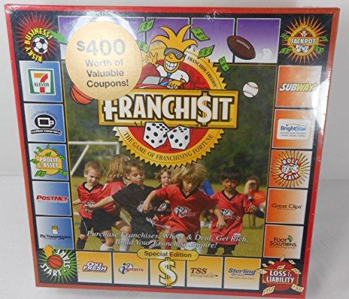 Franchi(dollars)it Board Game (Franchise It)