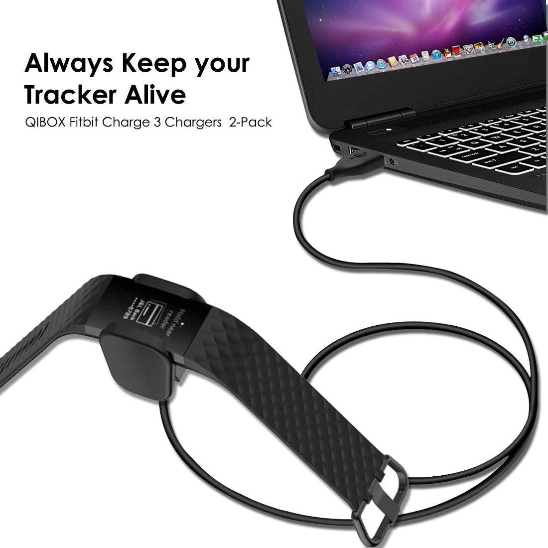 Amazon.com: Fashioneey Clip de carga compatible con Fitbit ...