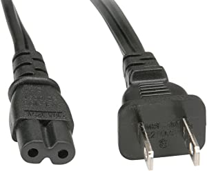 RocketBus Replacement AC Power Cable Cord for Apple TV 1st 2nd 3rd Generations