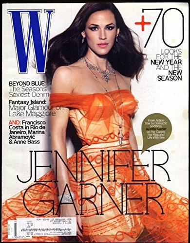 W Magazine 1 2010 Jennifer Garner Marina Abramovic Borromeo Island Italy