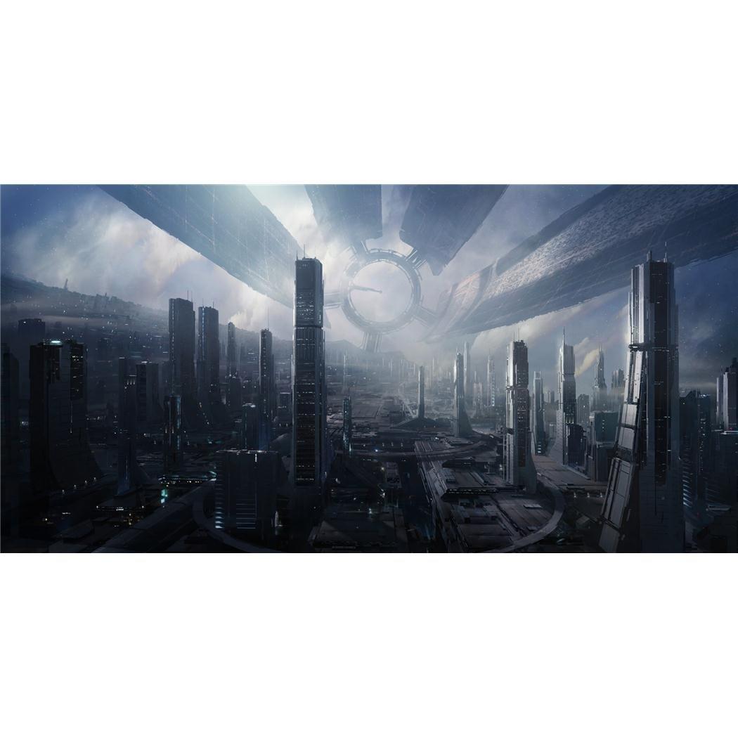 Mass Effect (48inch x 24inch / 120cm x 60cm) Silk Print Poster - Seta Manifesto - 80FF05 Infinite Arts