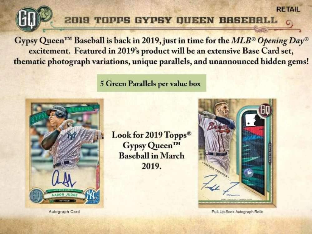 You  Pick  or Choose your Player 2019 GYPSY QUEEN Fortune Teller MINIS Insert
