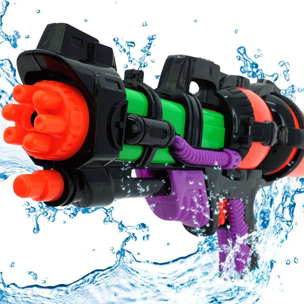 3pcs Verano Caliente Nuevo Big 44cm de Alta presión de Gran Capacidad de Agua Pistola de Juguete Pistolas de Agua Grandes Armas Infantiles para niños Juegos de Verano al Aire Libre
