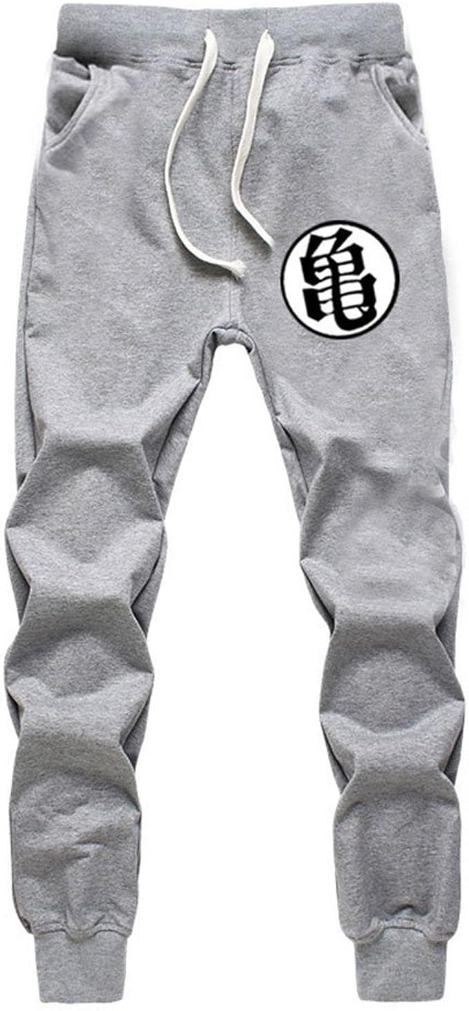 Yying Hombre Pantalones Moda Cintura Media Slim Fit Pantalón de ...