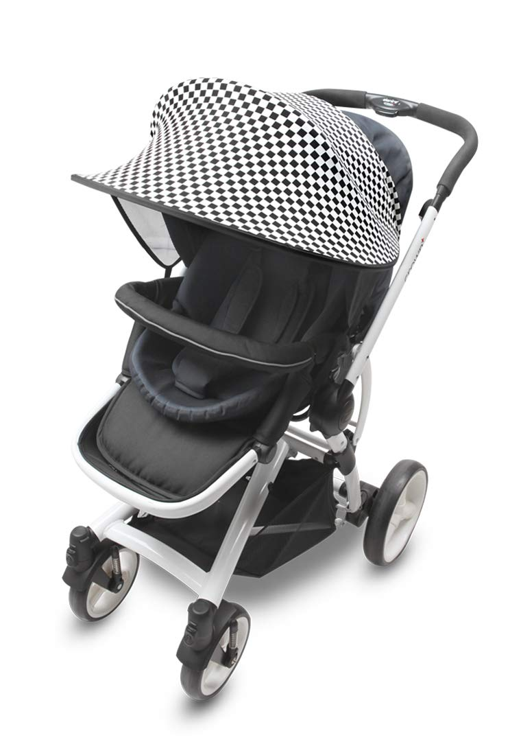 7 Available Colors Black Manito Sun Shade for Strollers and Car Seats