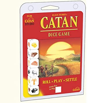 Mayfair Games mfg03120 – Tabla de Juegos, Catan Dice Clamshell ...