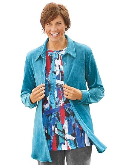 e022b0af5ad AmeriMark Corduroy Big Shirt at Amazon Women s Clothing store