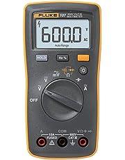 Fluke 107 Ac/dc Current Handheld Digital Multimeter by Fluke 107, Gray