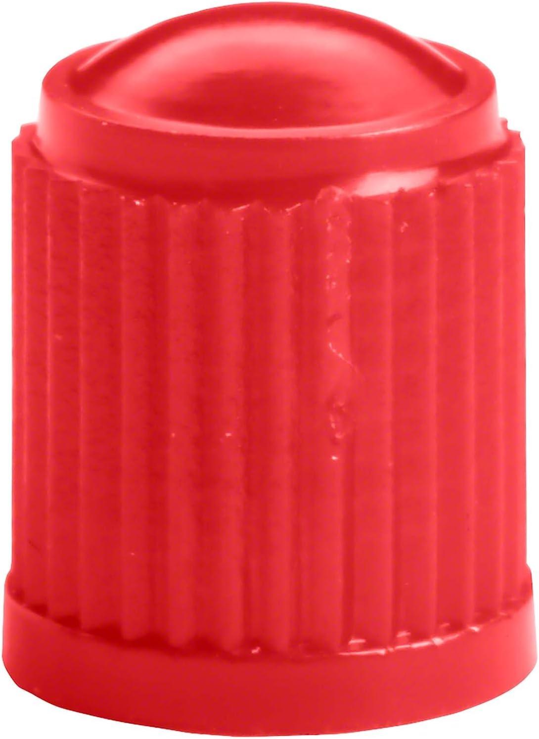 100x Tappi valvole pneumatici rosso con sigillo Hofmann Power Weight Tappi antipolvere pneumatici cappucci valvole