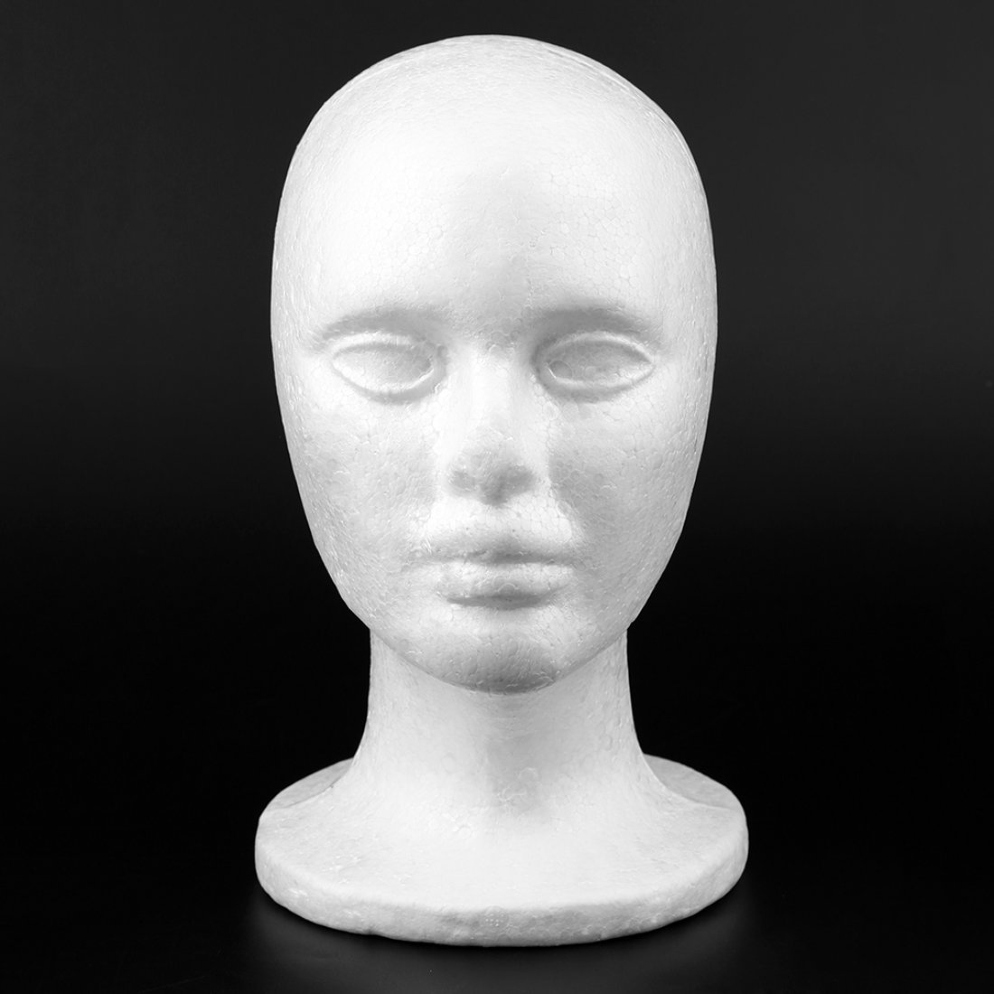 Uomo Maschile Corto Tipo Mannequin Testa Modello Parrucca Cappello Occhiali Cappellini Visualizza Bubble Mannequin Head Bianco Formulaone